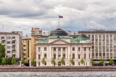 Former Palace of Grand Duke Nicholas, which now houses the residence of the Russian Presidential Envoy, St. Petersburg. SAINT-PETERSBURG, RUSSIA - MAY 26, 2017 Stock Image