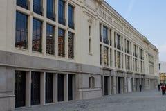 Former pavilions of the Milanese millennial fair Stock Photos