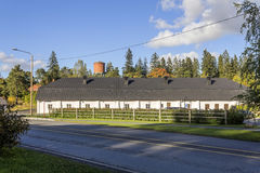 Former piggery. In southern Finland royalty free stock photo