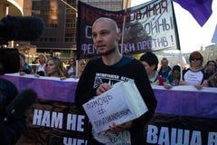 Former political prisoner Vladimir Akimenkov Royalty Free Stock Photos