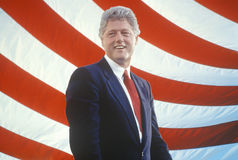 Former President Bill Clinton royalty free stock photos