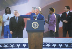 Former President Bill Clinton Royalty Free Stock Photography