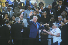 Former President Bill Clinton Stock Images