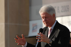 Former President Bill Clinton Stock Image