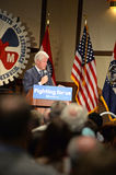 Former President Bill Clinton Speaks to Hillary Supporters Stock Image