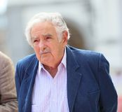 Former president of Uruguay Pepe Mujica Royalty Free Stock Images