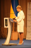 Former Prime Minister of Ukraine Yulia Tymoshenko Royalty Free Stock Photography