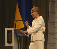Former Prime Minister of Ukraine Yulia Tymoshenko Royalty Free Stock Photo