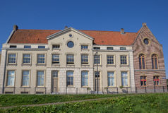 Former prison building on the Oostereiland in Hoorn. Holland stock image