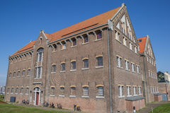 Former prison building on the Oostereiland in Hoorn. Holland royalty free stock photos