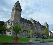 Former Prusia Government Palace in Koblenz Stock Photos