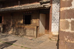 The former residence. A corner of yunnan bai people's former residence Royalty Free Stock Image