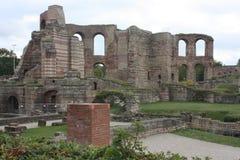 Former Roman Bath House Royalty Free Stock Photography