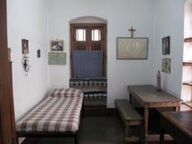 Former room of Mother Teresa at Mother House in Kolkata Stock Images