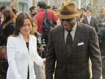 Former San Francisco Mayor Willie Brown. At the Chinese New Years Celebration Stock Photo