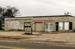 Former Service Station Stock Images