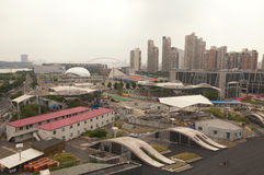 Former Shanghai World Expo Site Royalty Free Stock Photos