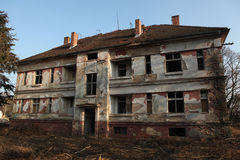 Former Soviet military base in Milovice, Czech Republic. Royalty Free Stock Photos