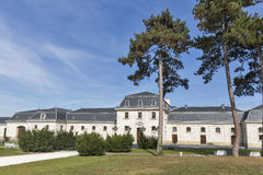 Former stable and carriage house, Festetics Castle park, Keszthely, Hungary. Royalty Free Stock Image