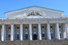 The former stock exchange building in Leningrad Royalty Free Stock Photography