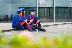 Former students Royalty Free Stock Photo