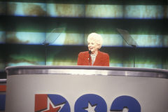Former Texas Governor Ann Richards Stock Photography