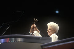 Former Texas Governor Ann Richards Royalty Free Stock Images