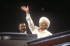 Former Texas Governor Ann Richards Stock Photo