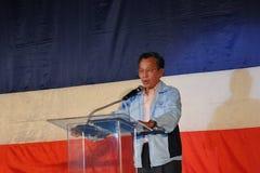 Former Thai Prime Minister Chuan Leekpai Royalty Free Stock Photo