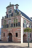 Former town hall of Appingedam in the Netherlands Royalty Free Stock Images