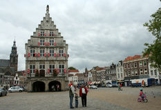 The former town-hall  on the marktet square Stock Photo