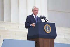 Former US president Bill Clinton Royalty Free Stock Photos