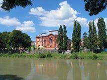 Former Uzhgorod Synagogue, Transcarpathia, Ukraine Stock Image