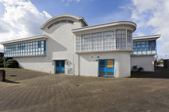 Former water supply building de Esch in Rotterdam Stock Images
