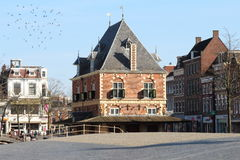 Former weigh house in Leeuwarden, Holland Royalty Free Stock Photo
