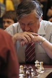 Former World Champion, Anatoly Karpov Stock Images