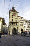 Formerly Prison Tower, Kaefigturm, Bern Royalty Free Stock Images