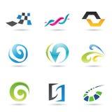 Formes 1 d'abstrait illustration stock