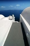 Formes 2 de Santorini Photo stock