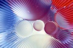 Formes abstraites colorées Photos stock