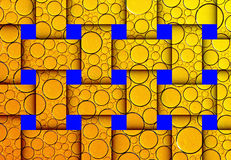 Formes abstraites colorées Image stock