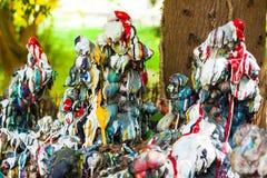 Formes abstraites colorées lumineuses Photos stock