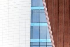 Formes abstraites dans l'architecture urbaine moderne Photo stock