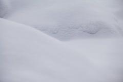 Formes abstraites de neige Photographie stock