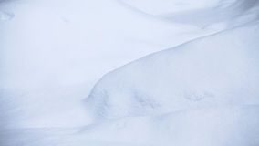 Formes abstraites de neige Image stock
