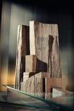 Formes architecturales abstraites photographie stock libre de droits