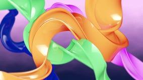 Formes colorées illustration libre de droits