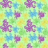 Formes colorées rayées Photos libres de droits