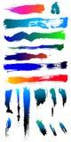 Formes criquées 1 de brouillon d'endroit grunge modifié de splat Image stock