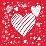 Formes de coeur illustration de vecteur